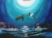 Myrna Walsh - Sea Turtles Greeting