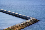 Sea Wall Prints - Sea wall Print by Viktor Savchenko