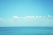 Sea Photography Photos - Sea With Sky And Clouds by Yiu Yu Hoi