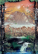Marc Chambers Prints - Seacret forest Print by Marc Chambers