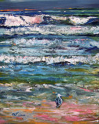 Patricia Taylor - Seagull on the Beach