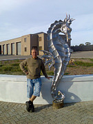 Hand Reliefs - Seahorse by Jaques