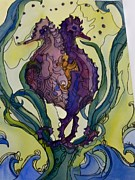 Seahorses Originals - Seahorses by Michelle Gonzalez
