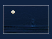 Moonlit Night Photo Originals - Sealink by Rajat Ghosh