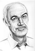 Sean Connery Print by Murphy Elliott
