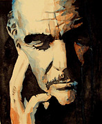 Icon Paintings - Sean Connery by Paul Lovering
