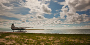 Dry Tortugas Prints - Seaplane in the Keys Print by Patrick  Flynn
