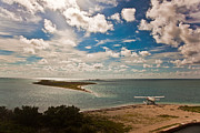 Dry Tortugas Photo Prints - Seaplane Print by Patrick  Flynn