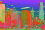 Lower Manhattan Photos - Seaport Psychedelia by Christopher Kirby