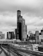 Chicago Skyline Photos - Sears Tower-Willis Tower by L S Keely