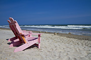 Seas The Chair  Print by Betsy A  Cutler