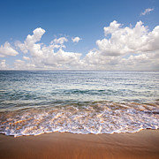 Sandy Beach Prints - Seascape Print by Carlos Caetano