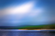 Acrylic Seascape Digital Art Posters - Seascape Imagination Poster by Lutz Baar