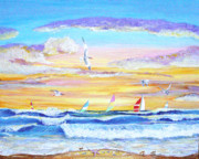 Sealife And Beaches - Seascape by Pauline Ross
