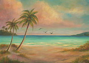 Seacapes Prints - Seascapes Paradise Print by Gabriela Valencia