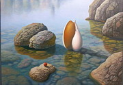 Evgeni Gordiets - Seashell and Apple