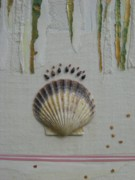 Seashell Mixed Media - Seashell by Gail Hinchen