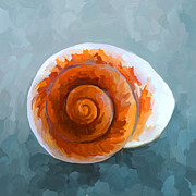 Sea Shell Painting Prints - SeaShell II Print by Jai Johnson