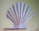 Shell Paintings - Seashell II by Michael Holmes