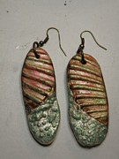 Stamped Jewelry - Seashell Stamped Earrings 16 by Megan Brandl