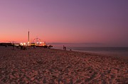 Beach Sunsets Posters - Seaside Park I - Jersey Shore Poster by Angie McKenzie