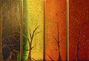 Seasons Print by Daniel MacGregor