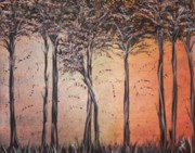 Rust Paintings - Seasons of Change by Patti Spires Hamilton