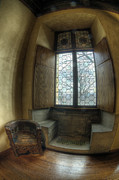 Cloisters Museum Prints - Seat by Window Print by Roni Chastain