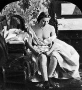 Nude Photograph Prints - SEATED NUDE, c1861 Print by Granger