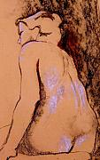 Ruth Mabee - Seated Nude