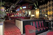 Sports Bar Prints - Seating at an American Style Diner Print by Jaak Nilson