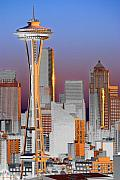 Seattle Architecture Print by Larry Keahey