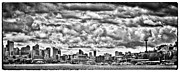 Lake Union Prints - Seattle Cityscape II Print by David Patterson