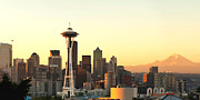 Seattle Skyline Art - Seattle Skyline from Kerry Park by Alvin Kroon