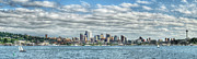 Seattle Skyline Art - Seattle Skyline by Kyla Applegate