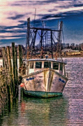 Trawler Metal Prints - Seaworthy II Metal Print by Tom Prendergast