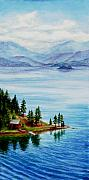 Rockies Paintings - Secluded by Mary Giacomini