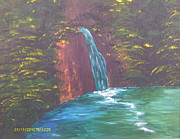 Juliet Nidhan - Secluded Waterfall