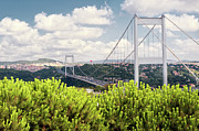 Built Structure Art - Second Bosphorus Bridge by Hulya Ozkok