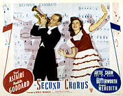 Arms Outstretched Photos - Second Chorus, Fred Astaire, Paulette by Everett