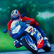 Riding Originals - Second Gear - Suzuki GSX600 by Brian  Commerford
