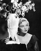Films By Alfred Hitchcock Metal Prints - Secret Agent, Madeleine Carroll, 1936 Metal Print by Everett