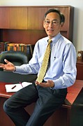 Laureates Prints - Secretary Of Energy Steven Chu B. 1948 Print by Everett