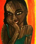 Haitian Paintings - Secrets by Iggy
