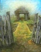 Early Pastels Originals - Secrets of the Past by Denise  Cox