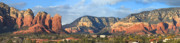 Panoramic Art - Sedona Arizona by Mike McGlothlen