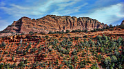 Red-rock Country Prints - Sedona Arizona VI Print by Jon Berghoff