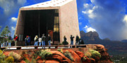 Catholic  Church Originals - Sedona Church by Dale Stillman