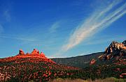 Magic Landscape Prints - Sedona Clouds Print by Susanne Van Hulst