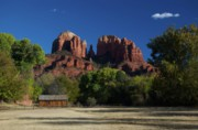 Red Rock Crossing Framed Prints - Sedona Framed Print by Michael White